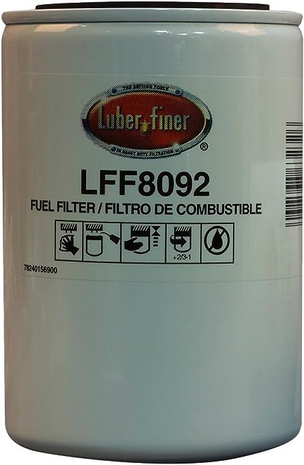 12 Pack Luber-finer LFF8472-12PK Heavy Duty Fuel Filter