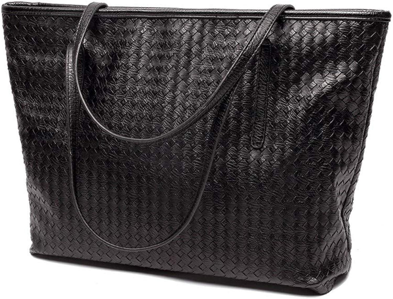 Zypxiekuabao Woven Woven Woven Bag Große Kapazität Umhängetasche Atmosphärisch Lässig Einfache Tasche B07QF779X4  Zuverlässige Qualität 04cd3d