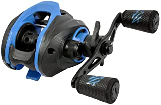 Okuma Serrano Low Profile High Speed Lightweight Graphite Frame Baitcast Reel, SRN100H-A Right Hand