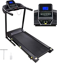 AW 3.0HP Folding Electric Treadmill Motorized Running Walking Machine Cardio Trainer with LCD 49