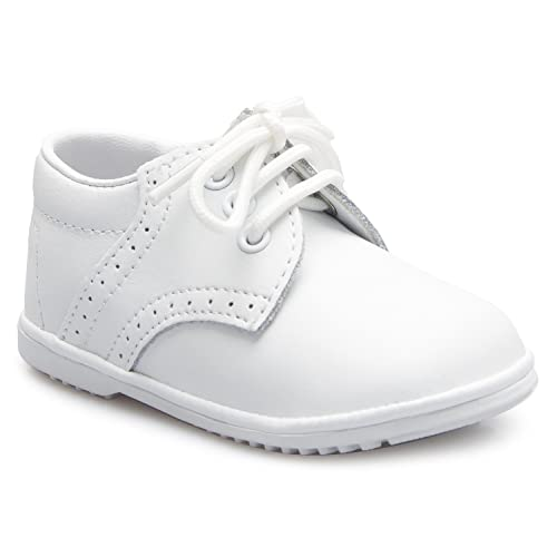 13953f93f27b OLIVIA KOO Baby Boys Infant to Toddler Oxford Christening Shoes