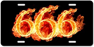 Best 666 car number plate Reviews