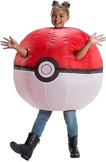 Rubie's Pokemon Child's Inflatable Poke Ball Costume
