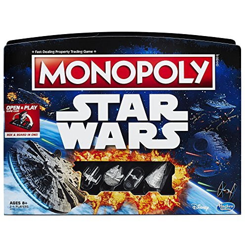 Star Wars Open and Play Monopoly