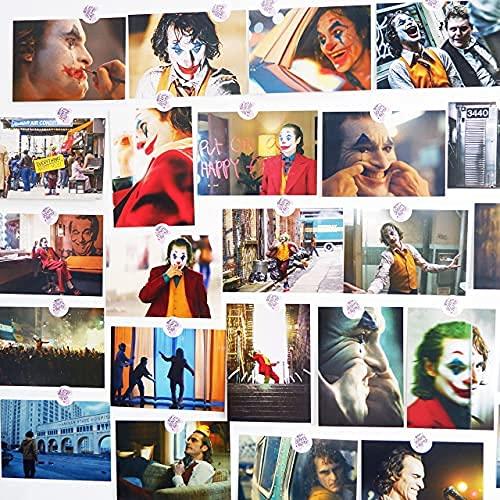 30 Blatte Postkarten,Postkarten Set,Wandcollage,Wandtattoo Film,Vintage Postkarten,Joker-Postkarte,Ästhetisches Bild für Wandcollage,Filmpostkarte,Retro Postkarten