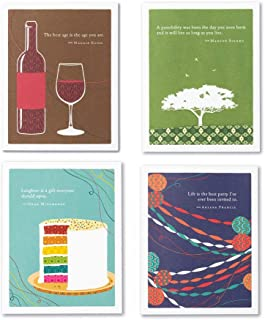 Positively Green: 4 Pack Birthday Card Bundle (Set 2)