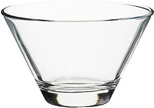 Schalenset aus Glas Leaves Glasschalen 7tlg