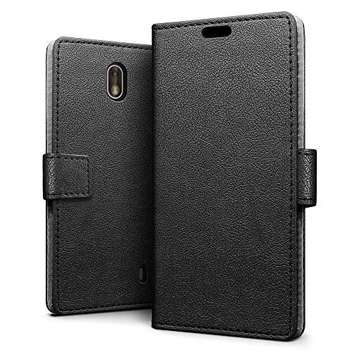 For Nokia Lumia Universal Luxury Leather Magnetic Wallet Stand Case Cover Cell Phones & Accessories