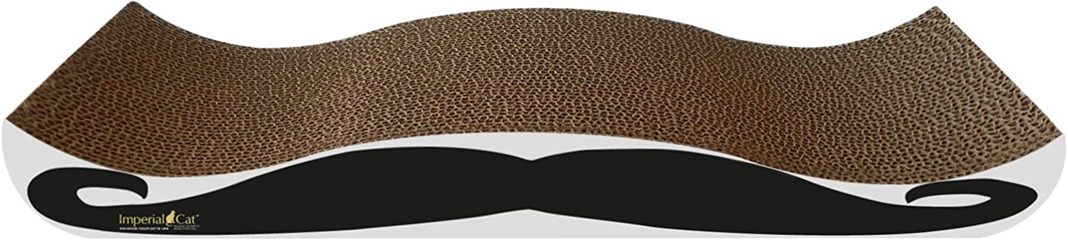 Imperial Cat Large Mustaches Scratch 'n Shape Scratcher