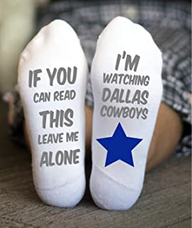 Dallas Cowboys Socks American Football Birthday Gift Game