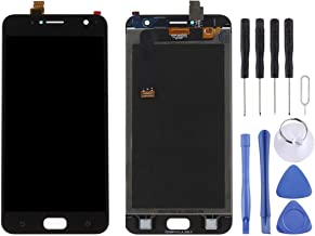 شاشة الهاتف المحمول LCD LCD Screen and Digitizer Full Assembly for Asus ZenFone 4 Selfie / ZB553KL (Black) شاشة عرض من الكريستال السائل (Color : Black)