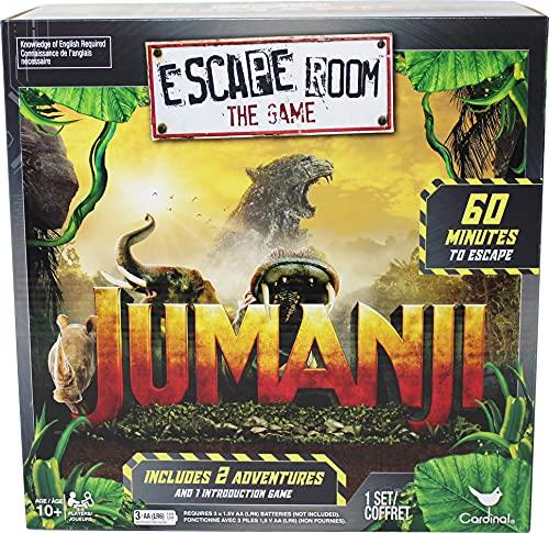 Spin Master Cardinal Games Jumanji Escape Room Game, Multicolor