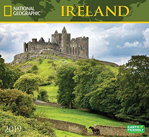 National Geographic Ireland 2019 Wall Calendar