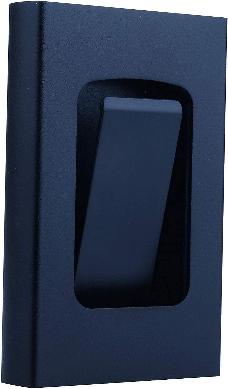 Latest Aluminum RFID Blocking Credit Card Holder for Men Women - Stylish Travel Wallet - Best Protection for Bank Debit, ID, ATM, Cards Against Scanning Criminals,7 Slots