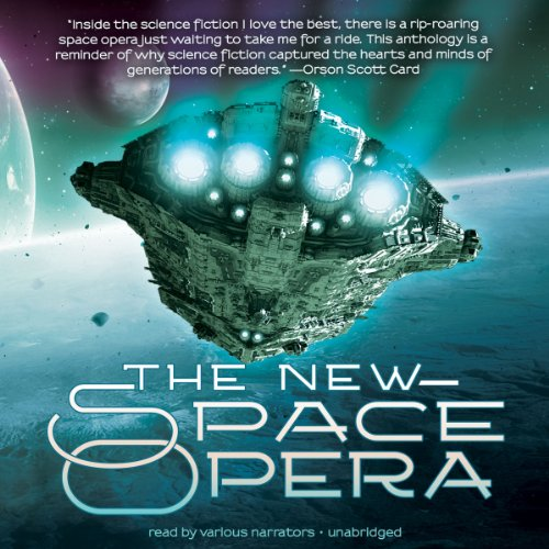 The New Space Opera audiobook cover art