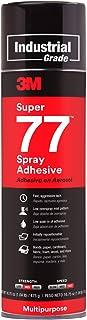 3M Super 77 Multipurpose Permanent Spray Adhesive Glue, Paper, Cardboard, Fabric,..