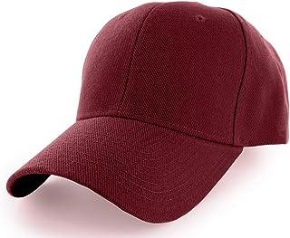 KANGORA Plain Baseball Cap Adjustable Men Women Unisex | Classic 6-Panel Hat | Outdoor Sports Wear (20+Colors)