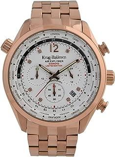Krug-Baumen 100109DM Mens Air Explorer Diamond Limited Edition Watch