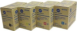 Konica Minolta MagiColor 4750DN High Yield OEM Toner Cartridge Set (Black.Cyan.Magenta.Yellow)
