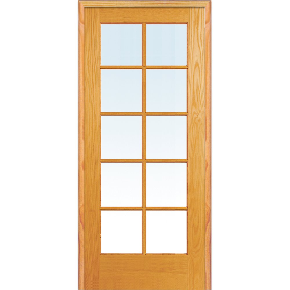 National Door Company ZZ19941L Unfinished Wood Clea 10 New sales Pine Lite Under blast sales