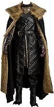 Cosplaysky Game of Thrones Season 7 Jon Snow Armor Halloween Costume Outfit