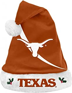NCAA Swoop Logo Santa Hat NCAA Team: University of Texas Longhorns