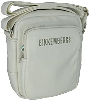 Bikkembergs Bolso bandolera unisex Db Next Reporter 7A D D6604 White