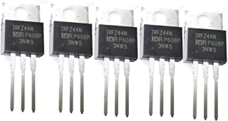 5 PCS IRFZ44N IRFZ44NPBF N-Channel Field-Effect Power Transitor 55V 49A RoHS Compliant TO-220