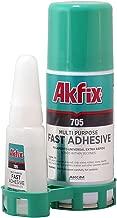 Akfix 705 Profesyonel Çift Kompenantlı Hızlı Yapıştırıcı 100 ml+25g