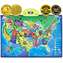 Best Learning i-Poster My USA Interactive Map Educational Talking Toy