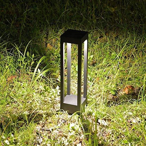 L Europese LED vloerlamp Garage Pavilion Pool rand bijdrage lantaarn IP55 waterdichte gemeenschappelijke tuin landschap straat zuil licht vierkant (grootte: S-H40cm) lsmaa