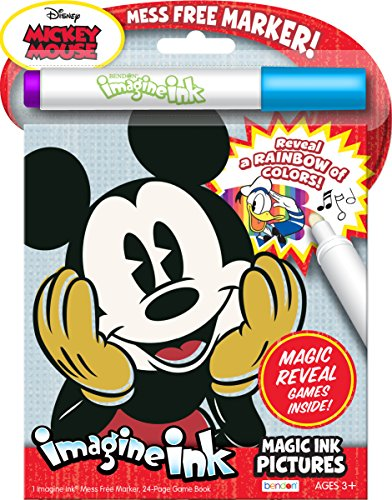 Mickey Mouse Vintage Magic Ink Pictures