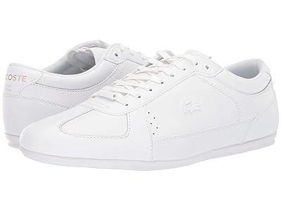 Lacoste Evara Sport 419 1 U (White/White) Men