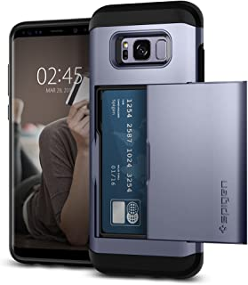 Spigen Slim Armor CS Designed for Samsung Galaxy S8 Plus Case(2017) - Orchid Gray