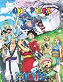 One Piece Coloring Book: Awesome One Piece Coloring Book for Adults and Kids, Great Gift For One Piece Lovers, 8.5 x 11 in Color Book