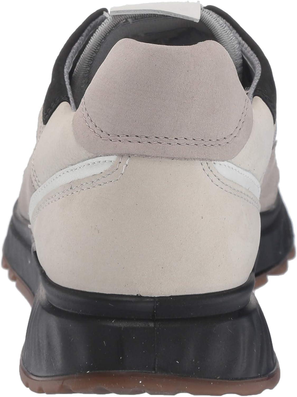 ECCO Women's St.1 Low-Top Sneakers Moon Rock White Gravel Black Trend zVGzLZ
