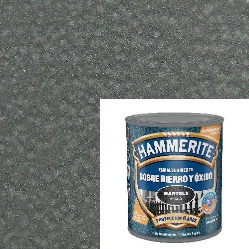 Esmalte Antioxidante Martele DIRECTO AL HIERRO HAMMERITE Gris 5 L.