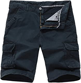 HaiDean Mens Cargo Shorts Camo Camo Modern Bermuda Shorts Bermuda Casual Trousers Sweat Pants Shorts Jogging Pants Pockets...