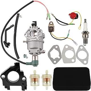 Dalom Carburetor w Tune Up Kit Air Filter for Harbor Freight Predator 69671 68530 68525 69672 69674 68529 68526 420CC Portable Generator