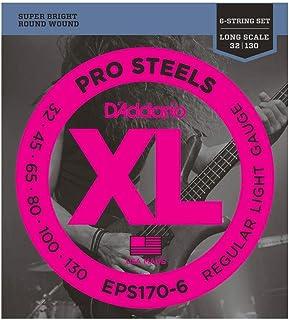 اوتار جيتار برو ستيلز باس من داداريو - EPS160 Light, 32-130 (6-String) EPS170-6