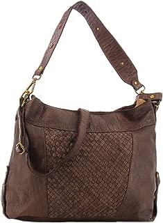 Civico 93 brown woven bag