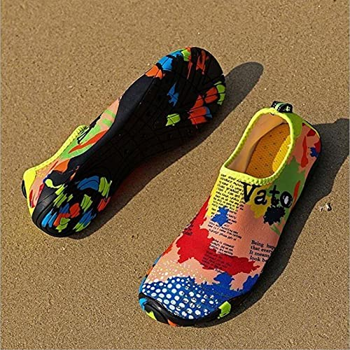 N\C Herren Damen Wassersportschuhe Sportschuhe Schnell Trocknend Schwimmschuhe Unisex Outdoor Atmungsaktiv Upstream Strandschuhe Watschuhe
