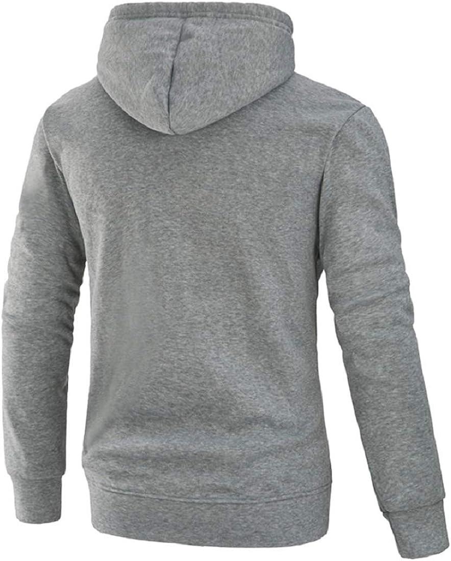 Bkolouuoe Mens Hoodies Mens Long Sleeve Pullover Hoodie Casual Patchwork Plus Size Pockets Hooded Sweatshirt Sportswear