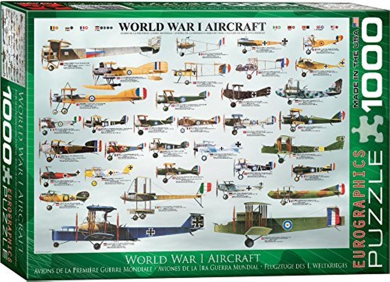 EuroGraphics World War I Aircraft 1000 Piece Puzzle by EuroGraphics