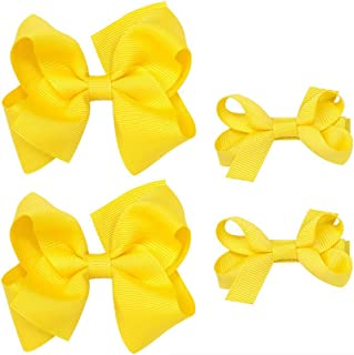 Girls Hair Clips Pins with Bow Hairclips Girls Bowknot Hairpins Hair Accessories BBG01 (Set A)