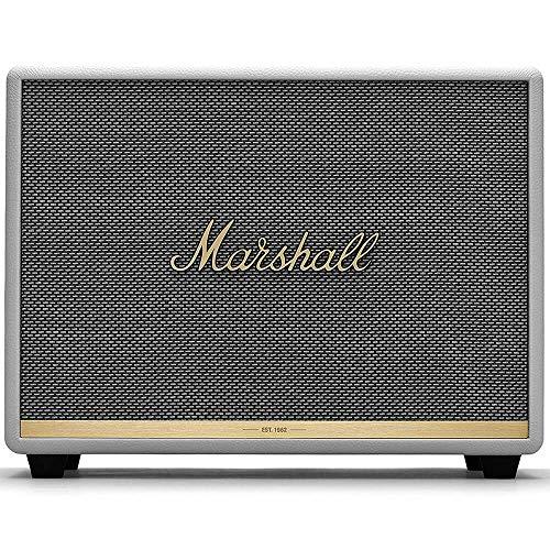 Marshall Woburn II Wireless Bluetooth Speaker - White (Renewed)