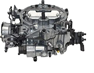 A-Team Performance 1903R - Remanufactured Rochester Quadrajet Carburetor 750 CFM 4MV Compatible with GM Chevy Chevrolet 1975-1985 Hot Air Style Choke Carb