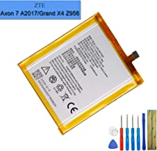Li-Polymer Replacement Battery Li3931T44P8h756346 Compatible with ZTE Axon 7 A2017 A2017U ZTE Grand X4 Z956 with Tools
