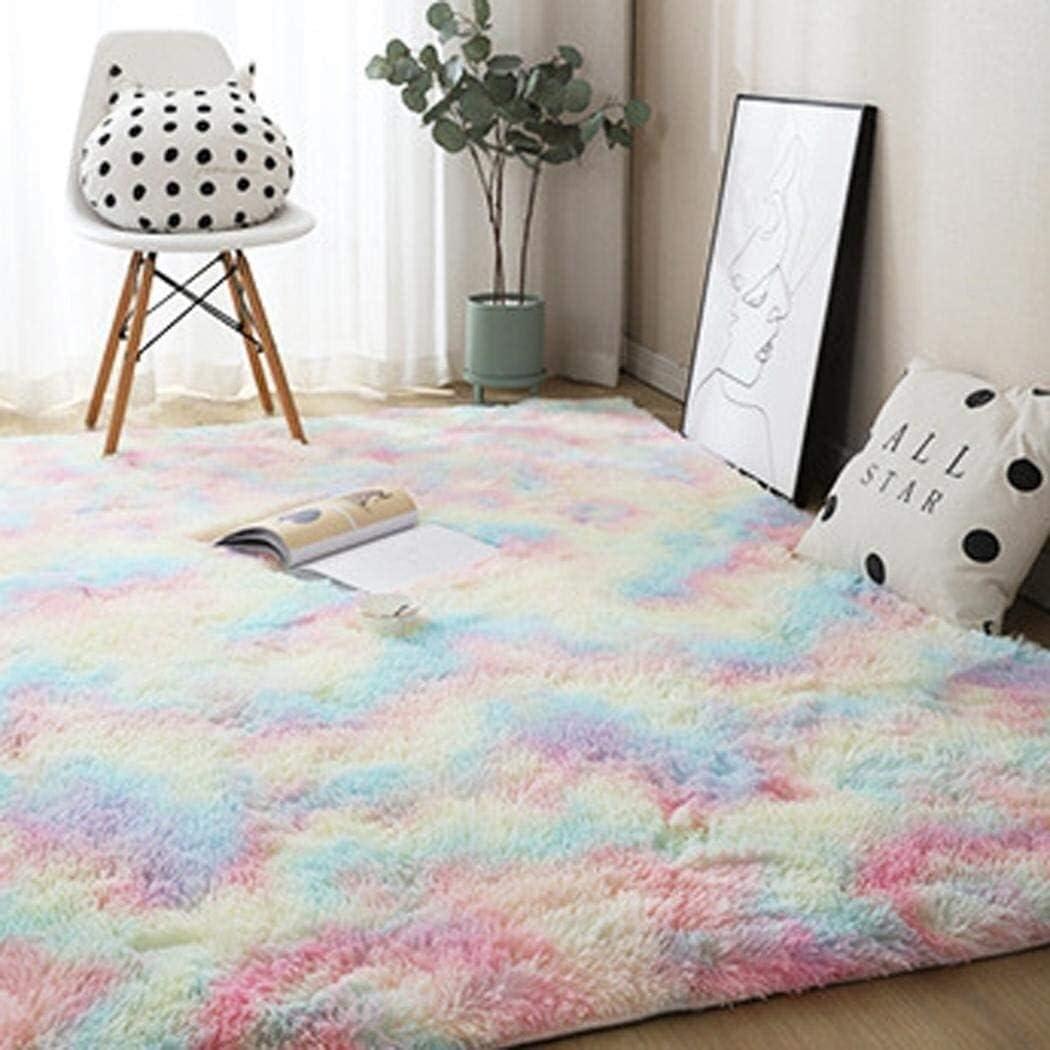 SDKFJ Soft Modern Plush Translated Carpet Decor Area Floor Dec Rug Memphis Mall Mat Home