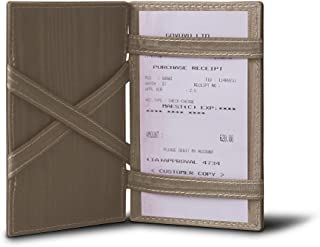 Lucrin - Magic Cards case - Light Taupe - Genuine Leather